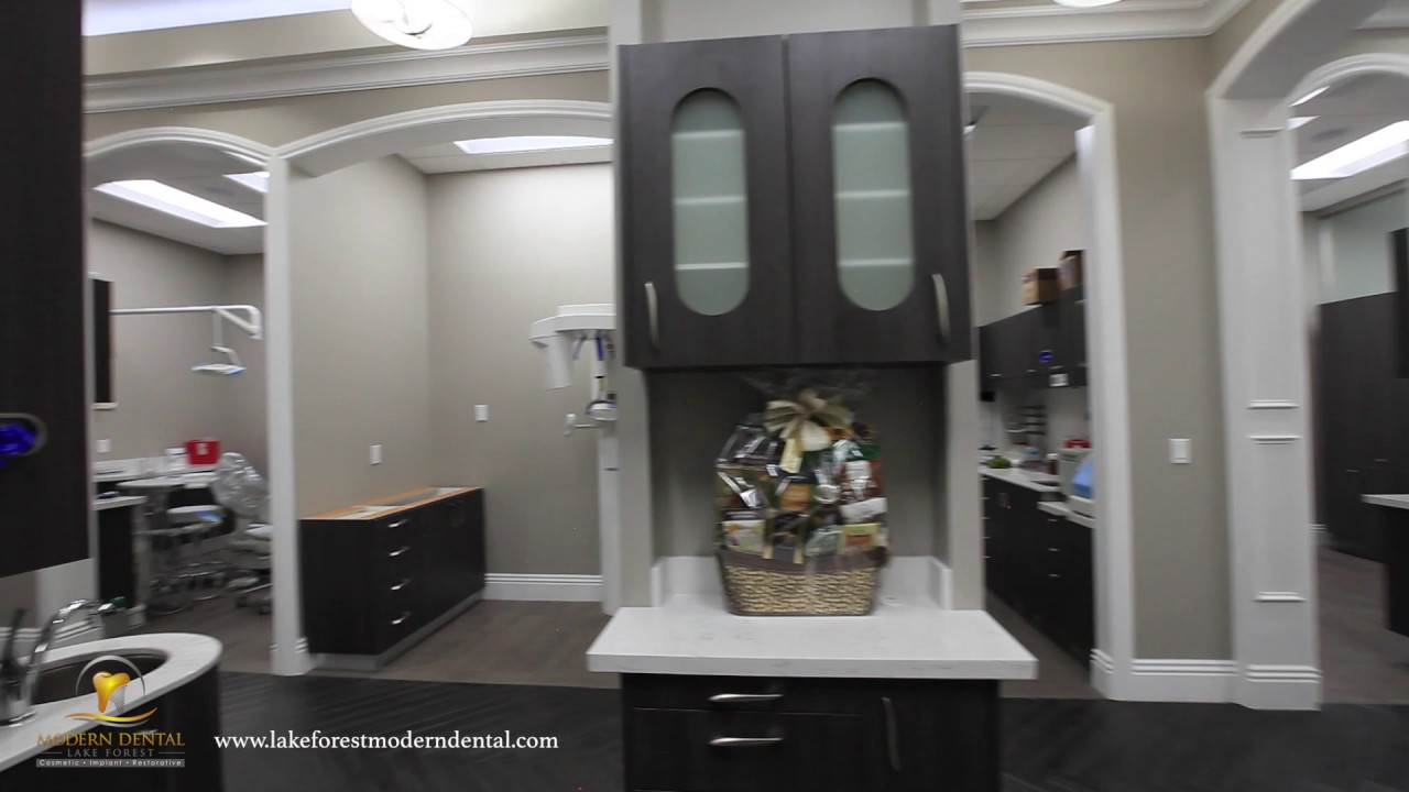 lake forest modern dental office tour - youtube