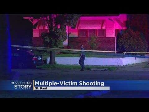 Police Investigate After Multiple People Shot In St. Paul