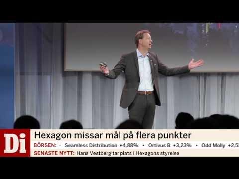 Hans Vestberg tar plats i Hexagons styrelse