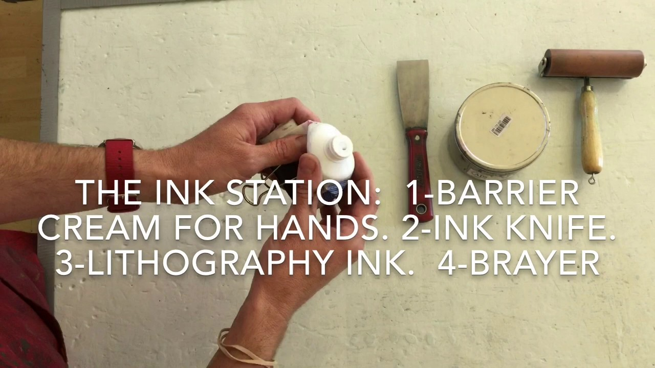 Polyester Plate Lithography in 5 Minutes