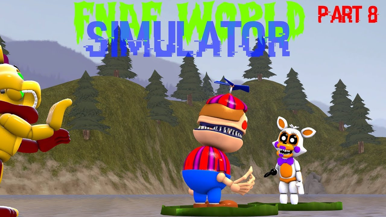 Fnaf World Simulator Full Game Android | Legacy Time