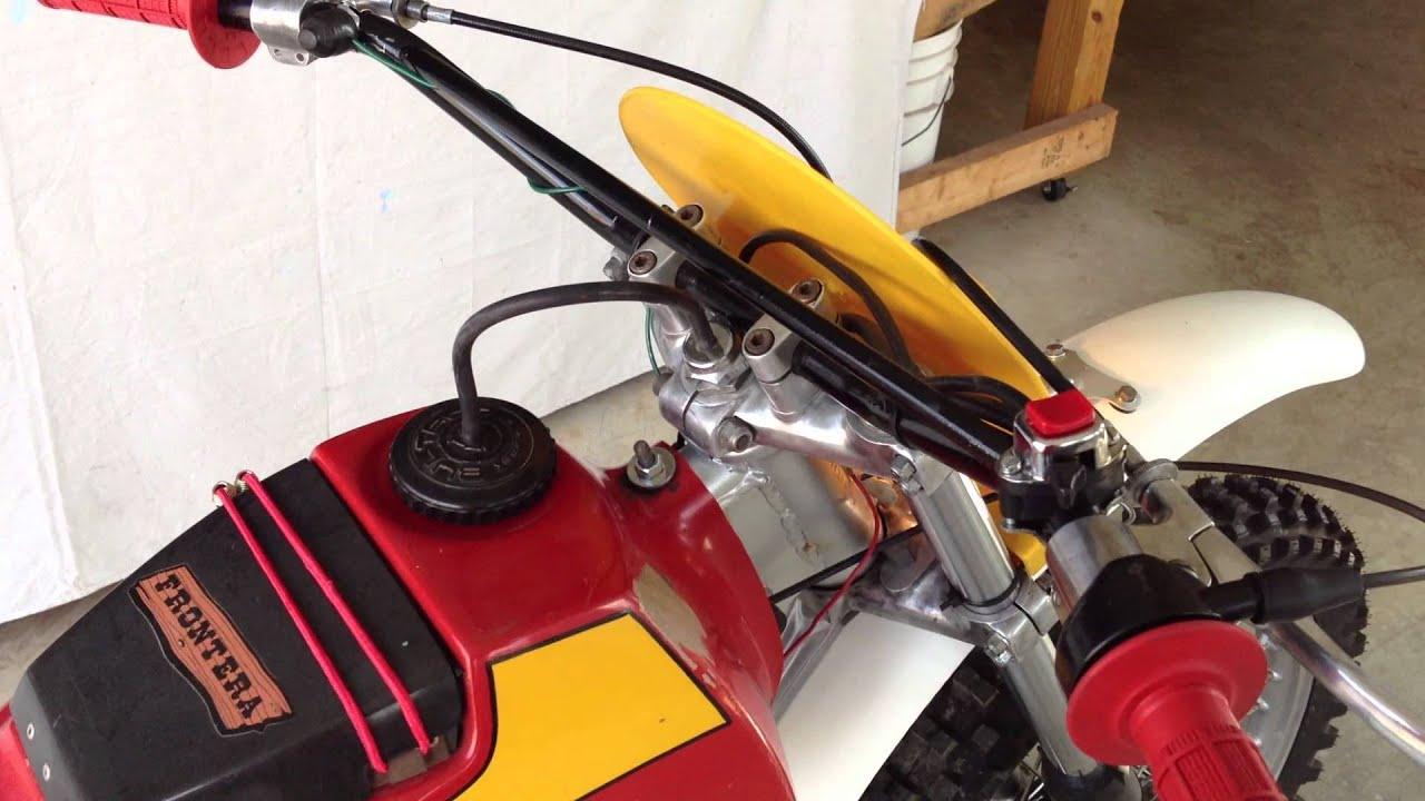 Bultaco Frontera Wiring Diagram Beginners Ignition Model 143 Rebuilt Youtube Schematic