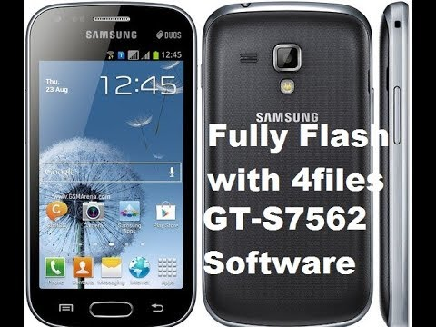 How to Fully flash samsung GT-S7562 with 4 flash file by MNG PRODUCTION 2018