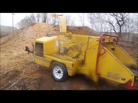 Vermeer BC1000XL wood chipper for sale | no-reserve Internet auction April  27, 2017