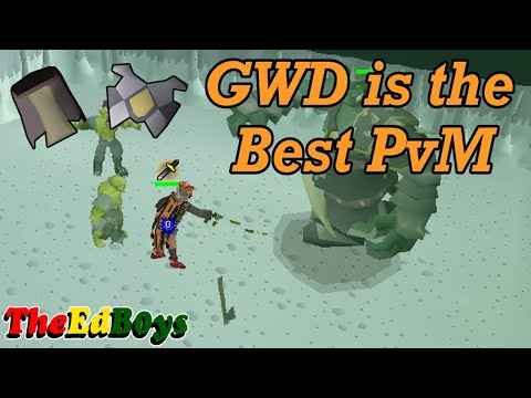 OSRS God Wars Dungeon Is The BEST PvM (Discussion) | GWD Good