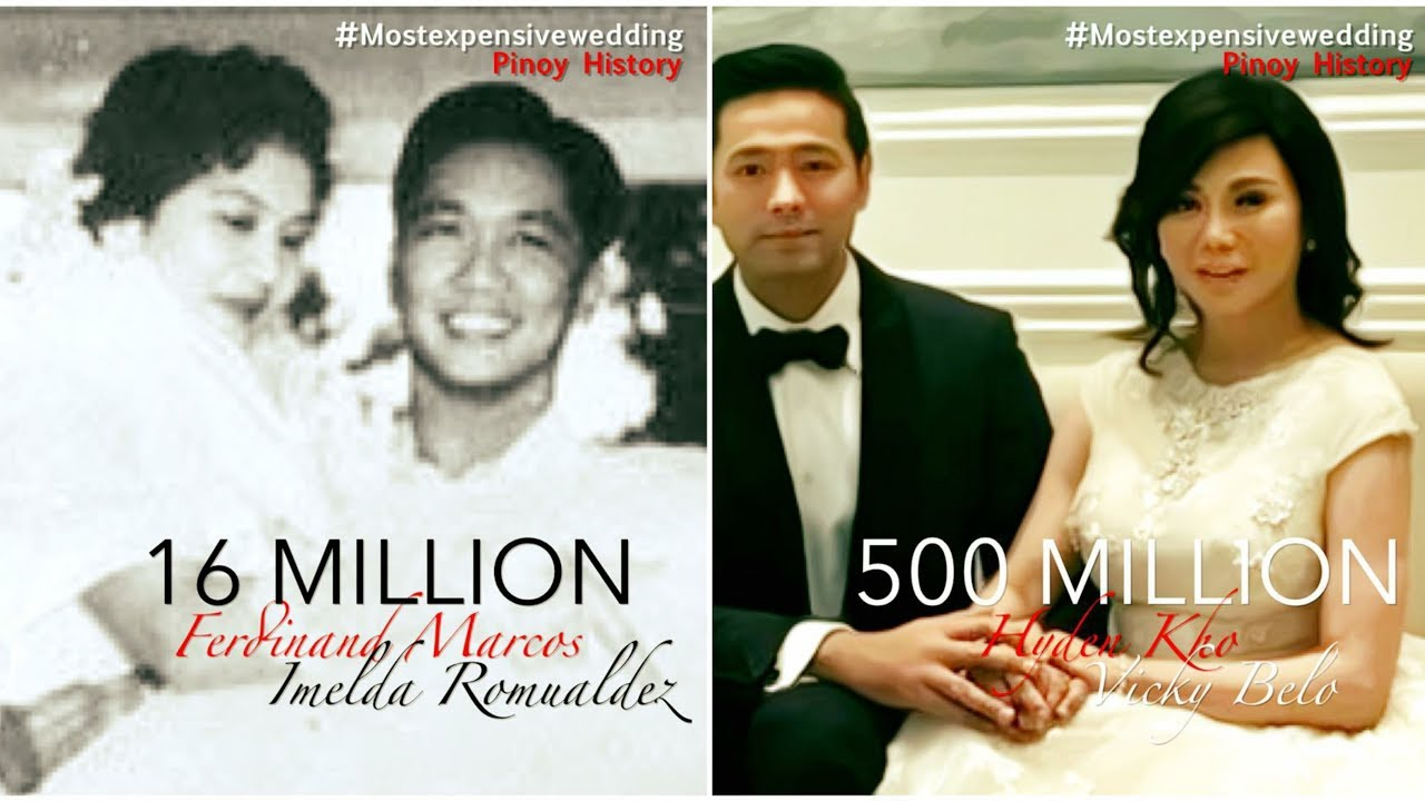7 Of The Most Expensive Wedding In Philippine History