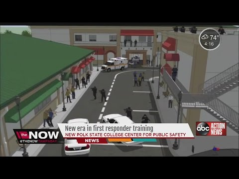 Polk State College opens state of the art, $30 million police training center