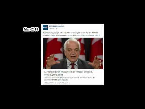 Canadafacts liberals refugee program