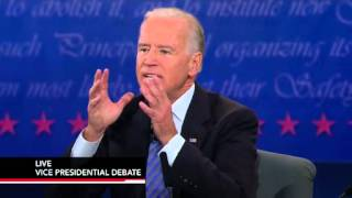 Watch the Full 2012 Vice Presidential Debate