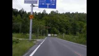 北海道道915号共和嵐山線:道道98号交点~道道72号交点(普通画質)[旭川市]