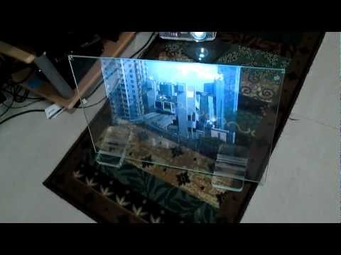 glass projection screen
