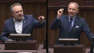"""Marek Jakubiak sprowadza na ziemię uniesionego Protasiewicza """"Zbóje jedne! Marnujecie nasze państwo!"""