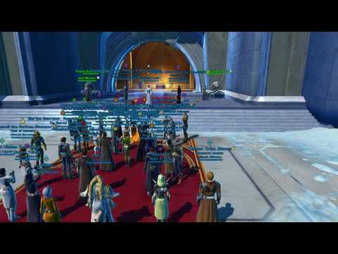 SWTOR Players assemble to mourn Carrie Fisher's passing and celebrate Princess Leia's life