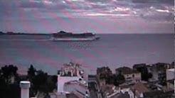 MSC PREZIOSA   torre di  Belem  web  cam   Lisbona 16/03/2013