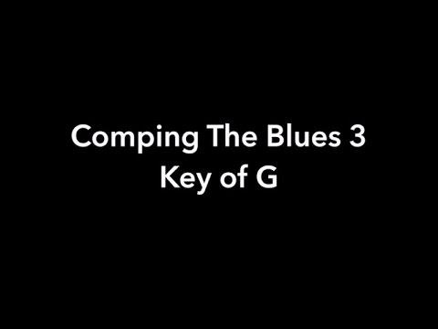 Blues Rhythm Lesson key of G