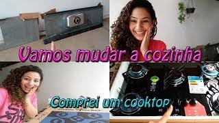 O que vamos fazer na cozinha, Comprei meu cooktop e mais...Letícia Veloso