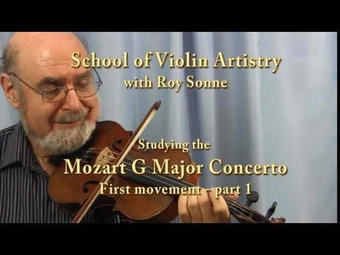 NEW! Mozart Masterclass with Roy Sonne - full version, part 1