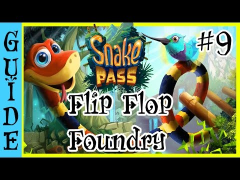 Snake Pass All Coin Locations: Flip Flop Foundry ! (+ A Glitch?!?!?)