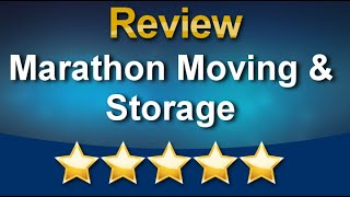 Marathon Moving Company in Canton MA  Remarkable Five Star Review by Dianer Bell