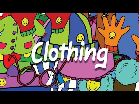 Clothing Vocabulary for Kids - What Do You Wear Chant - ELF Kids Videos