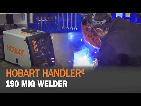 Hobart Handler 190 500554 - YouTube