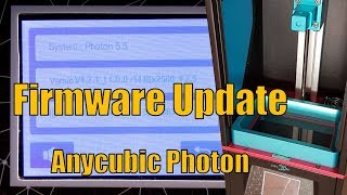 Anycubic 3d printer upload the firmware via cura