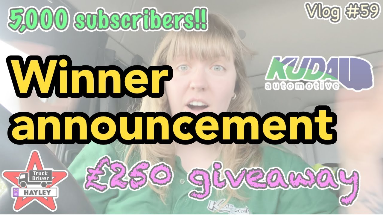 Vlog #67 - Kuda Automotive £250 voucher Winner announcement