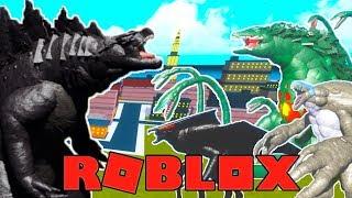 Roblox Proyecto Kaiju - GODZILLA EARTH! (Gigante Godzilla) Vs. ¡Un servidor completo!