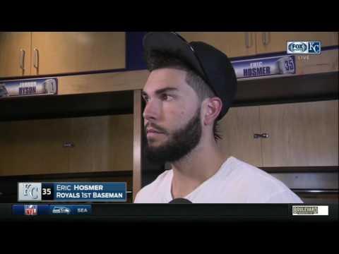Eric Hosmer wraps up Royals' 2016 season