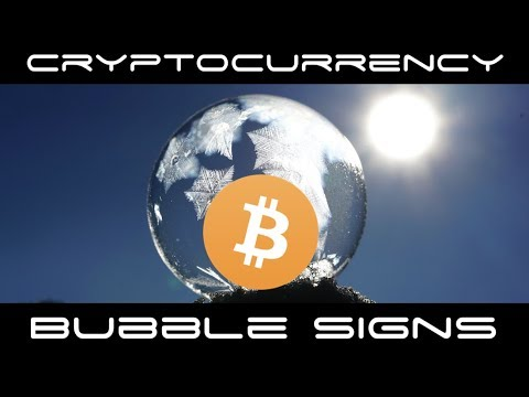 Cryptocurrency Bubble Signals To Be Informed About