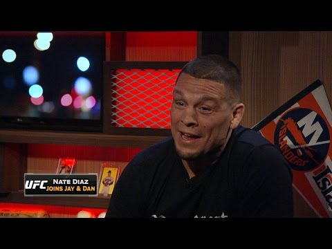 Nate Diaz joins FOX Sports Live to talk win over McGregor