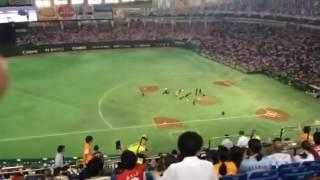 2016.8.25 湘南乃風が広島VS巨人戦の試合前ミニライブで阿部の登場曲...