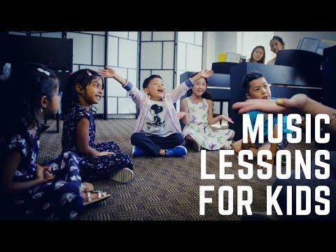 Music Lessons for Kids & Toddlers - Family Music Program by Merriam School of Music