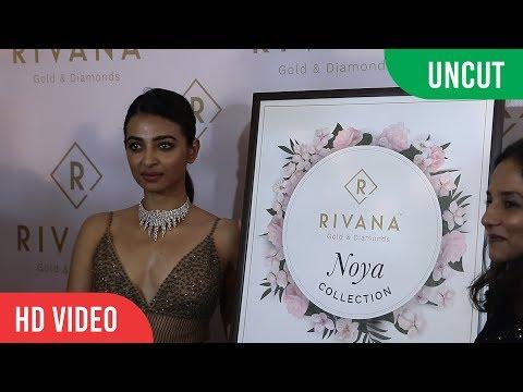 UNCUT - Rivana Gold & Diamond New Collection Launch | Radhika Apte