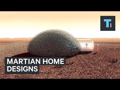 Martian home designs