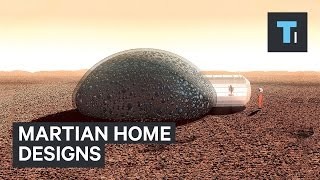 Martian home designs