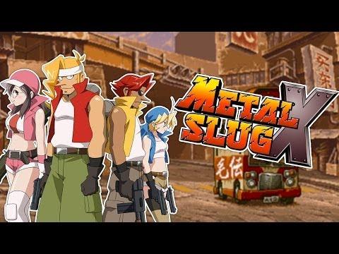 METAL SLUG X - Velhos Tempos