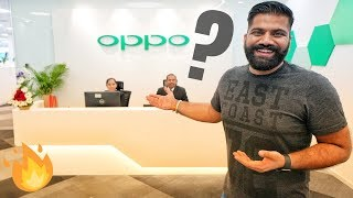Oppo India R&D Center Visit + R17 Pro Giveaway
