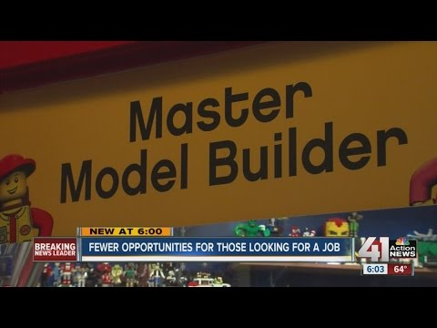 Fewer opportunities for those looking for a job