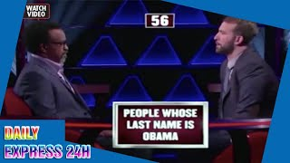 Bloke gets Barack Obama confused with Osama Bin Laden on gameshow – for £40,000