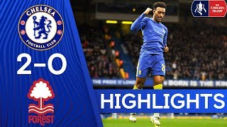 Chelsea 2-0 Nottingham Forest | Hudson-Odoi Scores and Assists! 🎯 | FA Cup Highlights