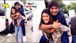 Sushant Singh Rajput LAST Video ENJOYING With BEST Friend Kriti Sanon!