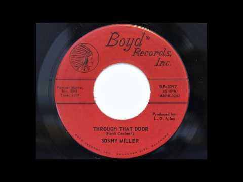 Sonny Miller - Through That Door (Boyd 3297) [1961 country]