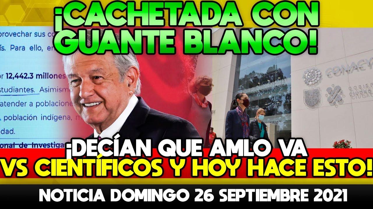 AMLO DA CACHETADA CON GUANTE BLANCO! OPOSITORES DECÍAN QUE IBA VS CIENTIFICOS Y HOY HIZO ESTO! TENGA