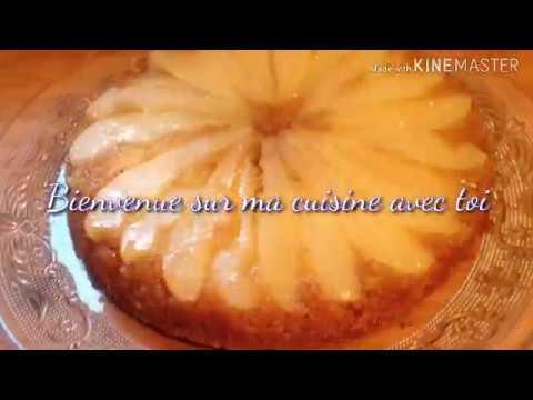 gâteau-renversé-à-l'ananas-ou-aux-poires