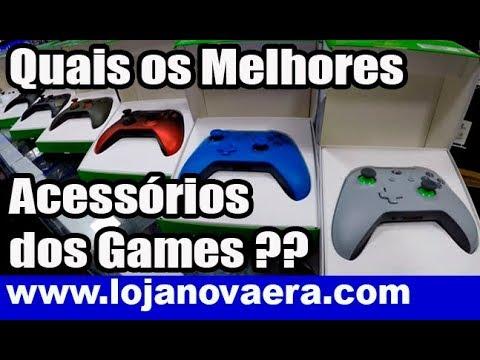 8219ec541533 Quais os Melhores Acessórios dos Videogames ?? - Loja de Games Nova Era -  Santa Efigênia SP