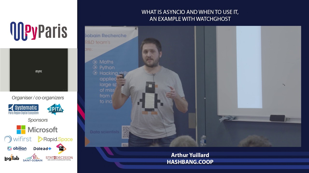 Image from What is asyncio and when to use it, an example with WatchGhost