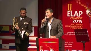 Conferencia Magistral de Rafael Correa Presidende del Ecuador