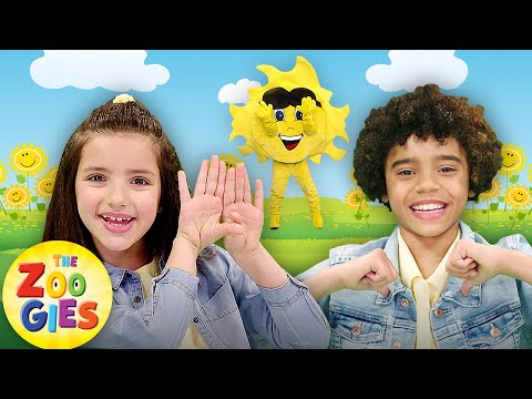 Mr. Golden Sun | Kids Singing Nursery Rhymes & Baby Songs | #ZouzouniaTV