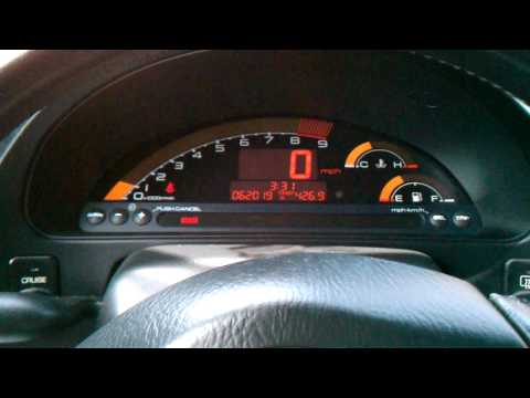Honda S2000 Red Interior And Top Down Youtube